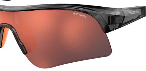 Okulary Przeciwsłoneczne Polaroid PLD7024S_M9LOZ_P00 Sportowe Rowerowe Pomarańczowe Najlepsze-Okulary.pl
