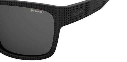 Okulary Przeciwsłoneczne Polaroid PLD 7025S_003M9_P02 Czarne Klasyczne Męskie Najlepsze-Okulary.pl