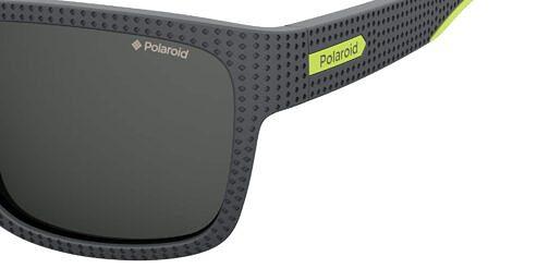 Okulary Przeciwsłoneczne Polaroid PLD 7025S_0UVM9_P02 Szare Klasyczne Męskie Najlepsze-Okulary.pl