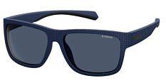 Okulary Przeciwsłoneczne Polaroid PLD/S 7025 FLL 58-C3 Niebieskie Męskie