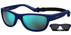 Okulary Przeciwsłoneczne Polaroid PLD/S 7030 FLL 60-5X Sportowe Niebieskie Pływające