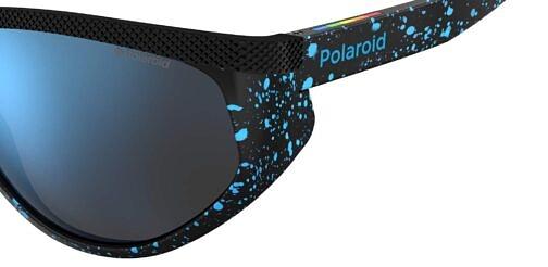 Okulary Przeciwsłoneczne Polaroid PLD 7032S_S6F5X_P02 Czarne Niebieska Panterka - Ciapki Sportowe Najlepsze-Okulary.pl