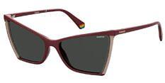 Okulary Przeciwsłoneczne Polaroid PLD/S 6127 LHF 57-M9 Bordowe Damskie