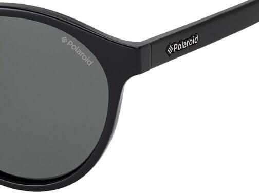 Okulary Przeciwsłoneczne Polaroid PLD 1013 D28 50-Y2 Czarne Okrągłe