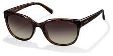 Okulary Przeciwsłoneczne Polaroid PLD/S 4030 Q3V 55-LA Brązowe Panterka Klasyczne Damskie