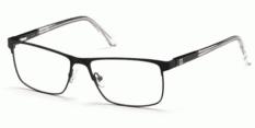 Okulary Korekcyjne Guess GU 1972 002 Oprawki Czarne Matowe Męskie