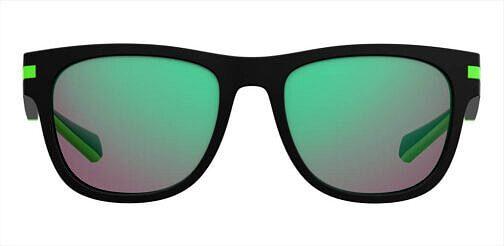 Okulary Przeciwsłoneczne PLD 2065S 003 5Z Czarne, Zielone Lustrzanki, Męskie Najlepsze-Okulary.pl (1)