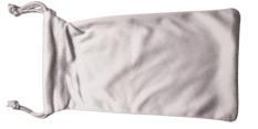 Woreczek Polaroid na Okulary Przeciwsłoneczne Kremowy
