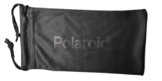Woreczek Polaroid na Okulary Przeciwsłoneczne Czarny