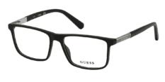 Okulary Korekcyjne Guess GU 1982 002 Oprawki Czarne Matowe Męskie