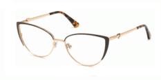 Okulary Korekcyjne Guess GU 2813 049 Złote, Czekoladowe Damskie