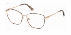 Okulary Korekcyjne Guess GU 2825 005 Złote, Czarne Damskie