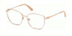 Okulary Korekcyjne Guess GU 2825 028 Złote, Pudrowe Damskie