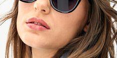 Okulary Przeciwsłoneczne Polaroid PLD 4096 807 Klasyczne Czarne Damskie