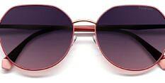 Okulary Przeciwsłoneczne Polaroid PLD 4106/G/S YK9 Metalowe, Różowe Damskie