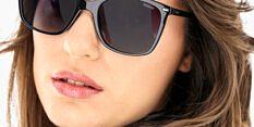 Okulary Przeciwsłoneczne Polaroid PLD 4108 807 Czarne Kocie Damskie