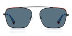 Okulary Przeciwsłoneczne Polaroid PLD 6131 D51 Czarne Metalowe