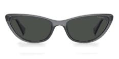 Okulary Przeciwsłoneczne Polaroid PLD 6142 KB7 M9 Kocie, Szare Transparentne Damskie