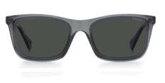 Okulary Przeciwsłoneczne Polaroid PLD 6144 KB7 M9 Klasyczne Transparentne Szare