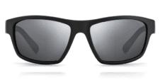 Okulary Przeciwsłoneczne Polaroid PLD 7037 003 Sportowe Czarne zLustrzanką Srebrną Matowe