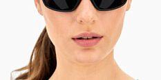 Okulary Przeciwsłoneczne Polaroid PLD 7037 807 M9 Sportowe Czarne Matowe