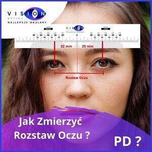 Jak Zmierzyć Odległość Źrenic (PD) ?   Najlepsze-Okulary.pl