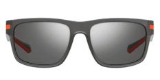 Okulary Przeciwsłoneczne Polaroid PLD 2066 RIW Szare Transparentne Sportowe